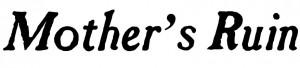 Mothers Ruin logo