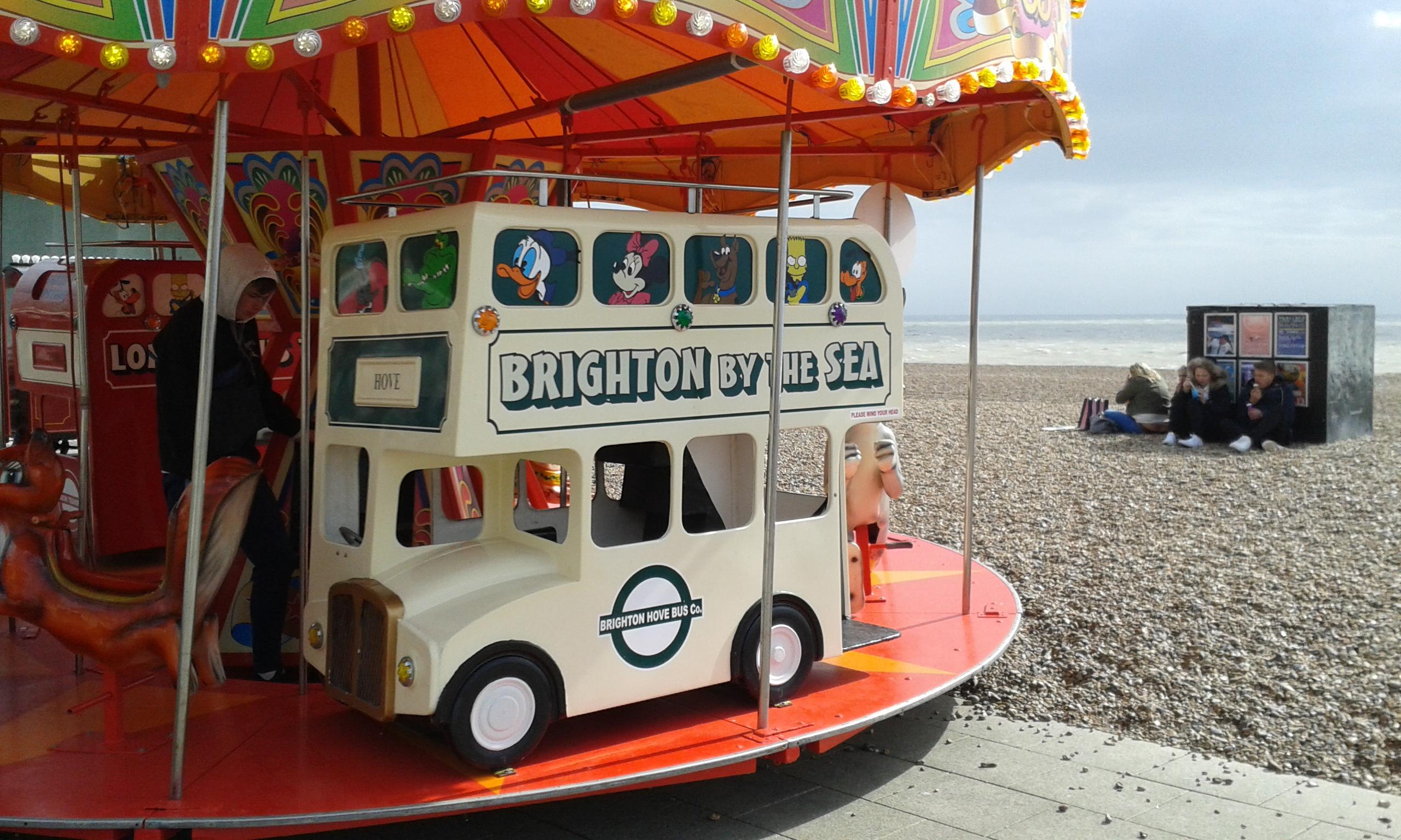 Brighton by the sea