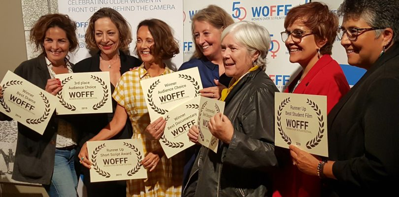 7 winners with their certificates at WOFFF19